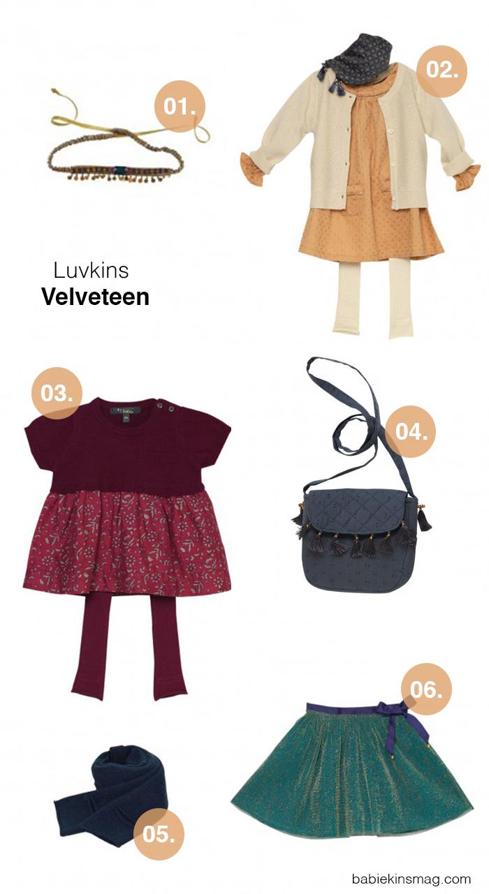 Babiekins Magazine // Luvkins- Velveteen Editor Picks