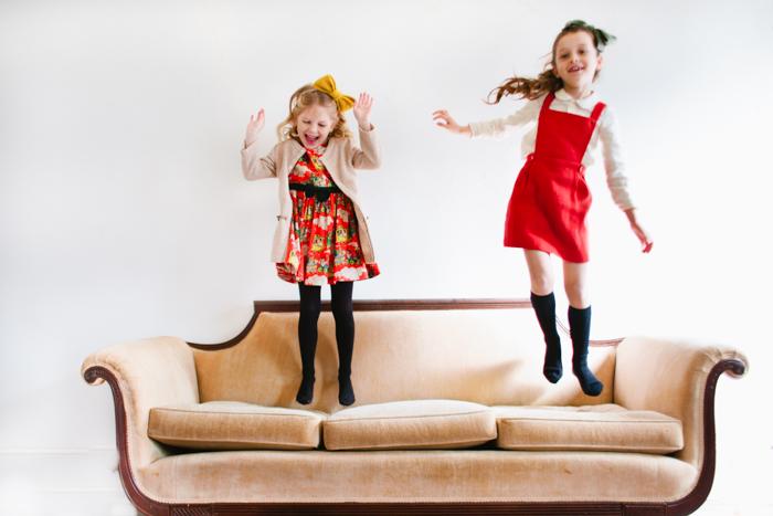 ELIZABETHPETTEYPHOTO for Babiekins Magazine // Fashionkins: A Class Christmas