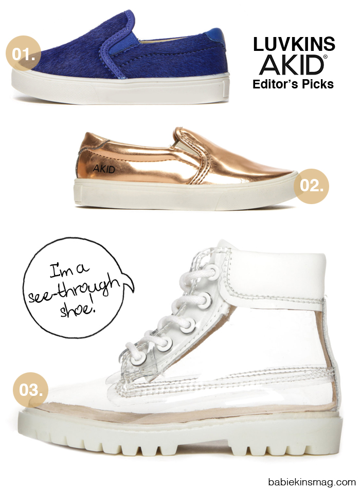 Babiekins's Editors Favorite Picks from AKID Shoes