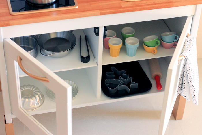 Keuken Kids Ikea : Mini ikea play kitchen makeover babiekins magazine