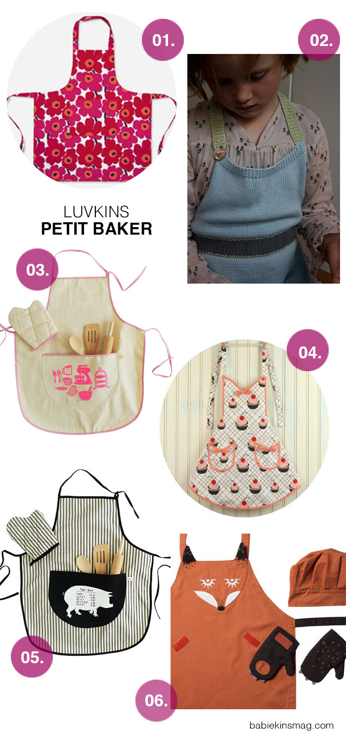 Babiekins Magazine | Luvkins // Petit Baker