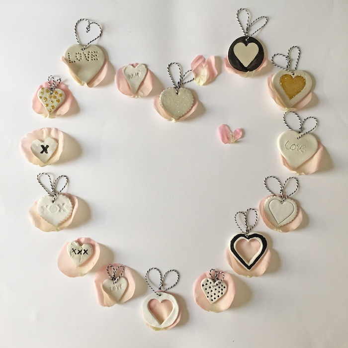 Babiekins Magazine|Craftykins//Valentine's Day Heart Decorations