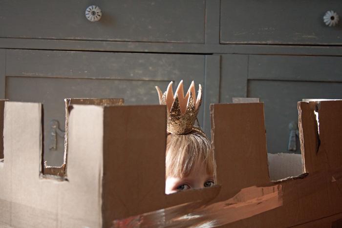 Babiekins Magazine_Storykins_Countablock_Edie with Crown In Fort