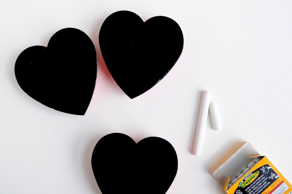 Babiekins Magazine |Craftykins // DIY Chalkboard Valentine Candy Box