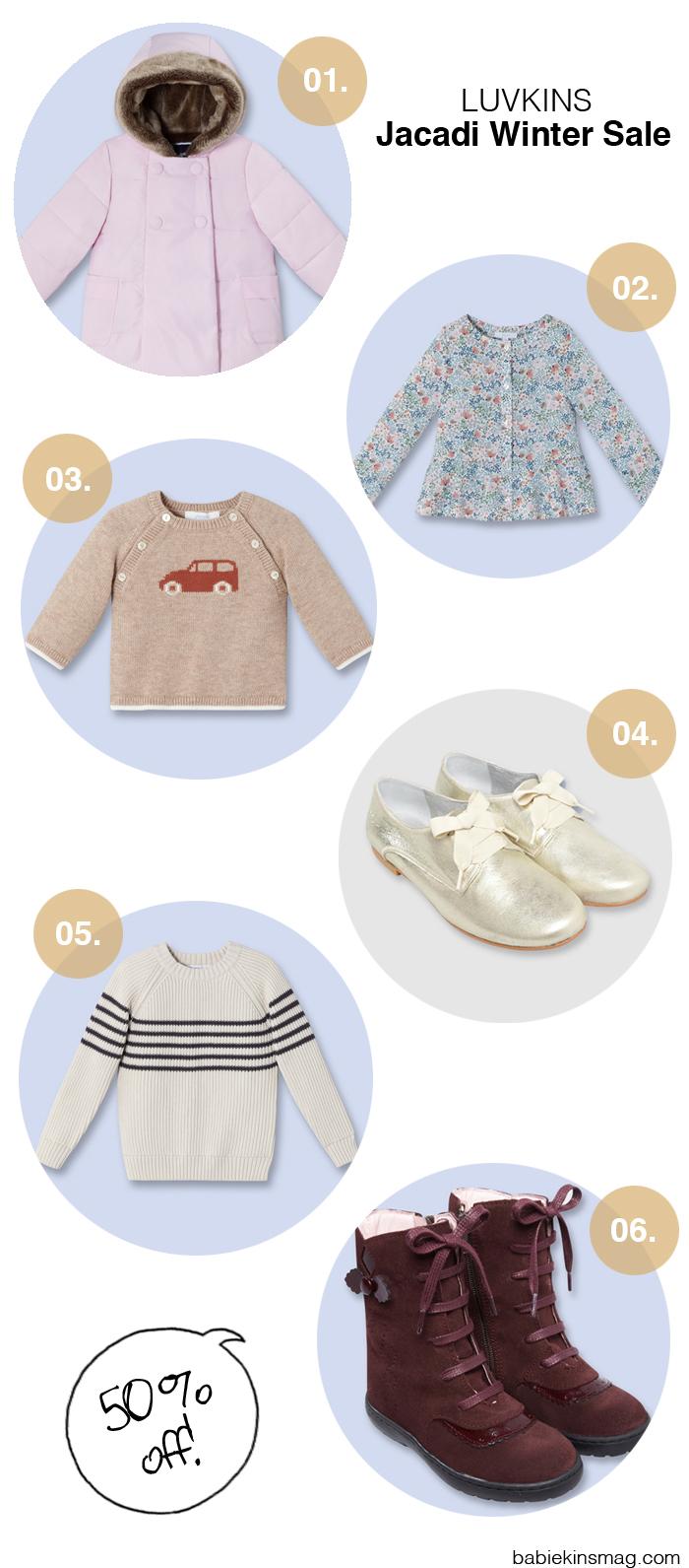 Babiekins Magazine | Luvkins / Jacadi Winter Sale
