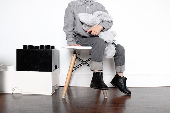 Babiekins Magazine | Lil'Stylekins // Grey Matter
