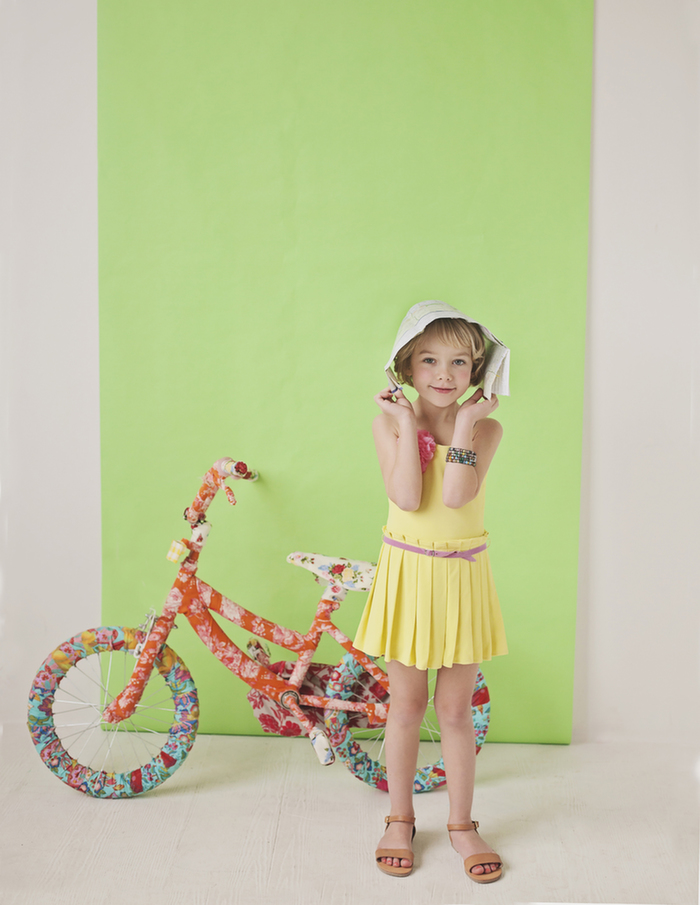 Babiekins Magazine|Fashionkins//Day Dreamin' of Spring by Julie Martin