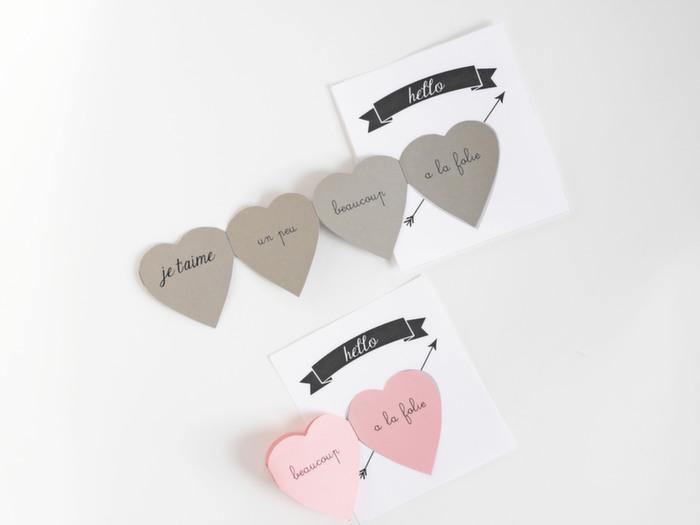 Babiekins Magazine|Craftykins//Chic Valentine's Day Card DIY