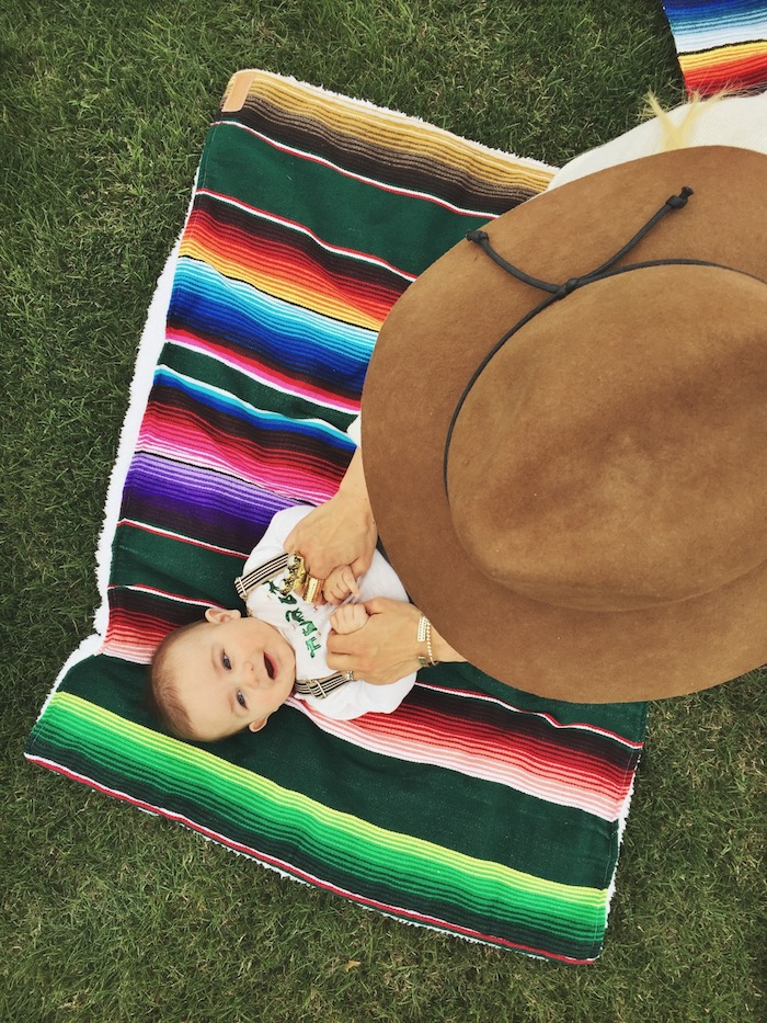 Babiekins Magazine | Rancher hat and serape