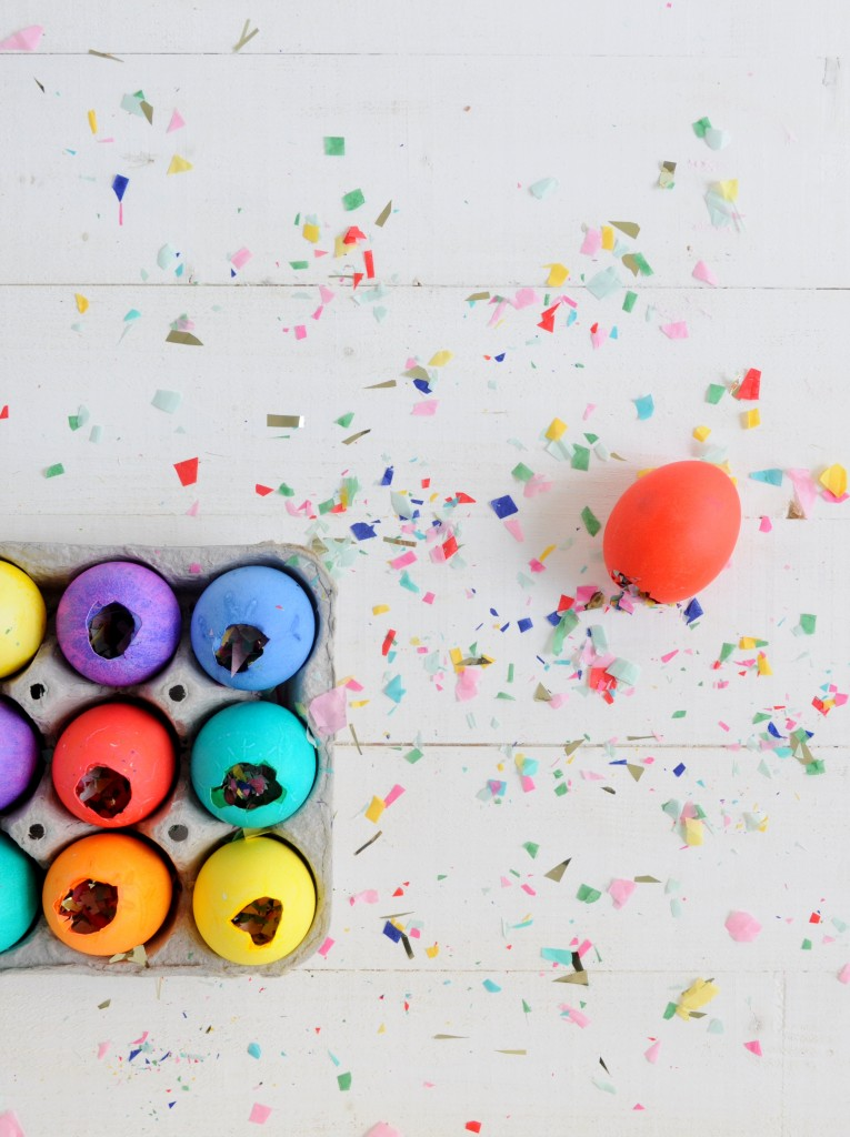 Babiekins Magazine|Craftykins // DIY Confetti Filled Easter Eggs