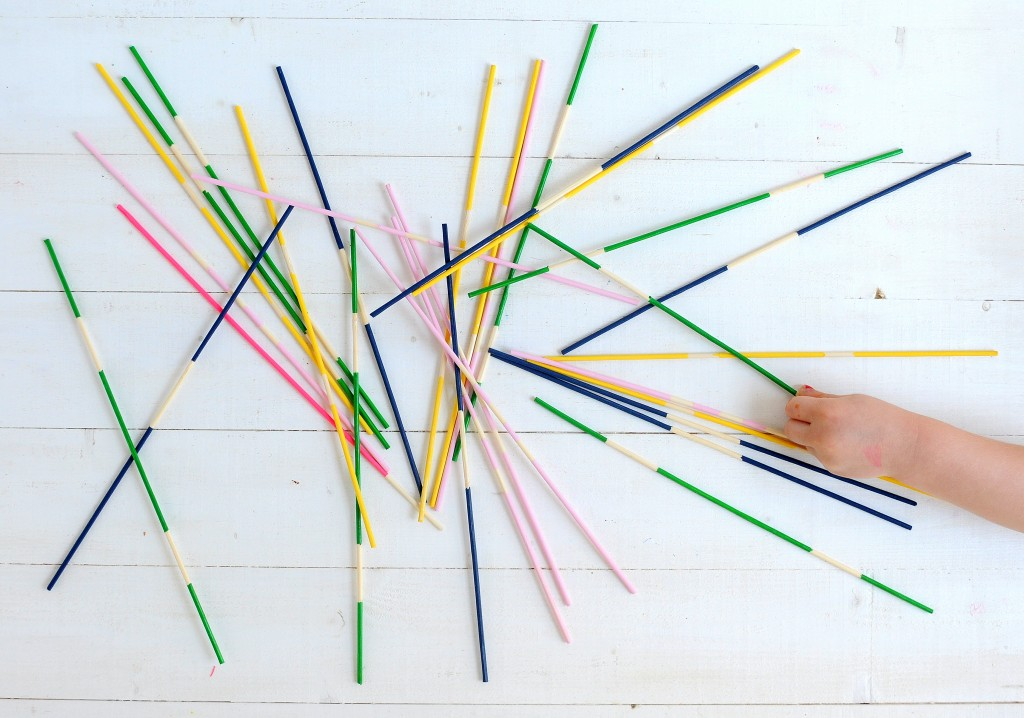 Babiekins Magazine | Craftykins // DIY Pick Up Sticks
