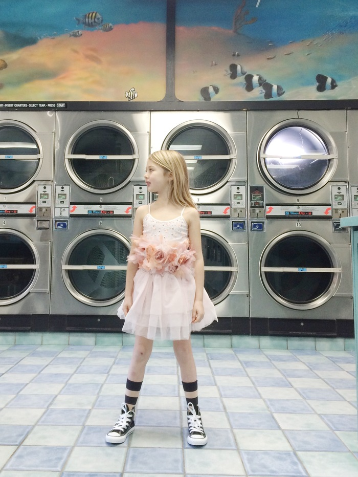 Babiekins Magazine|Lil'Stylekins//Hangin' at the Laundromat