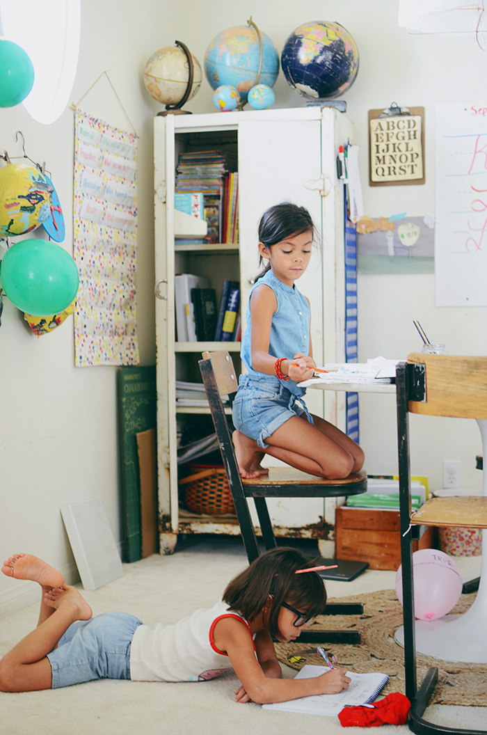 Schoolkins // A Typical Homeschooling Day With Ruby Bratcher