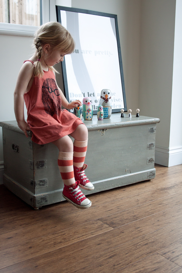 Babiekins Magazine | Lil Stylekins | Bobo Choses Tank Socks