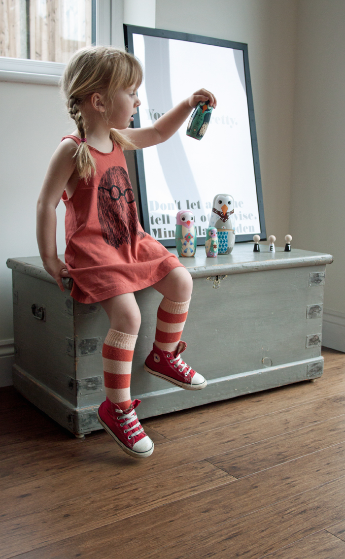 Babiekins Magazine |Lil Stylekins | Bobo Choses Ghost Dress and Nesting Dolls