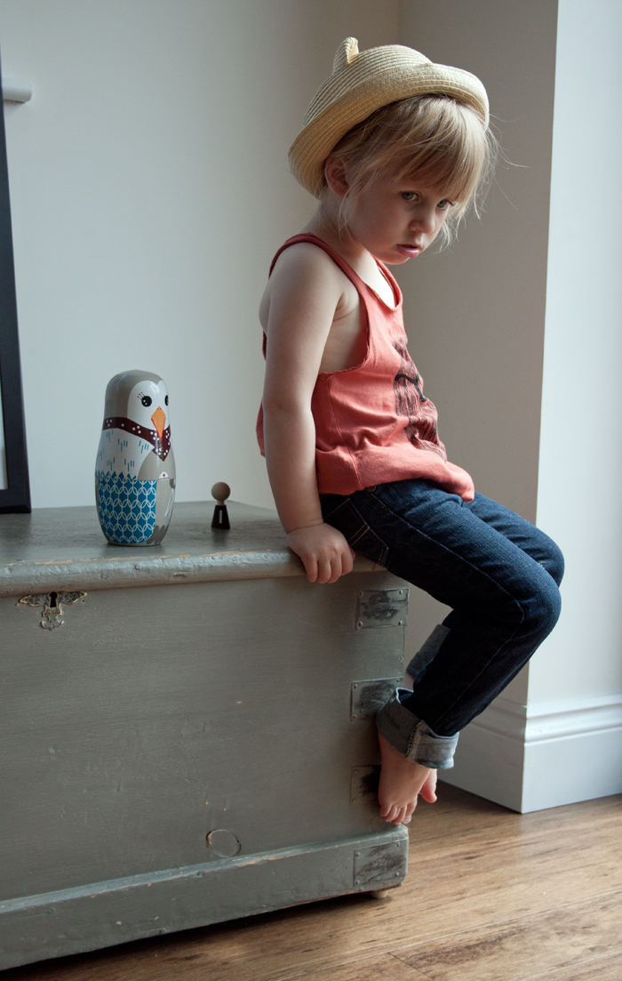 Babiekins Magazine | Lil Stylekins | Bobo Choses Ghost Dress Jeans