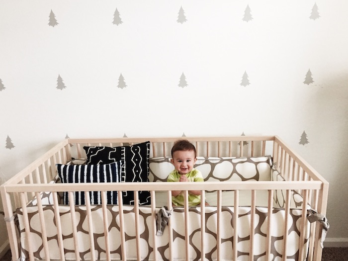 Babiekins Magazine | Neutral Eclectic Nursery
