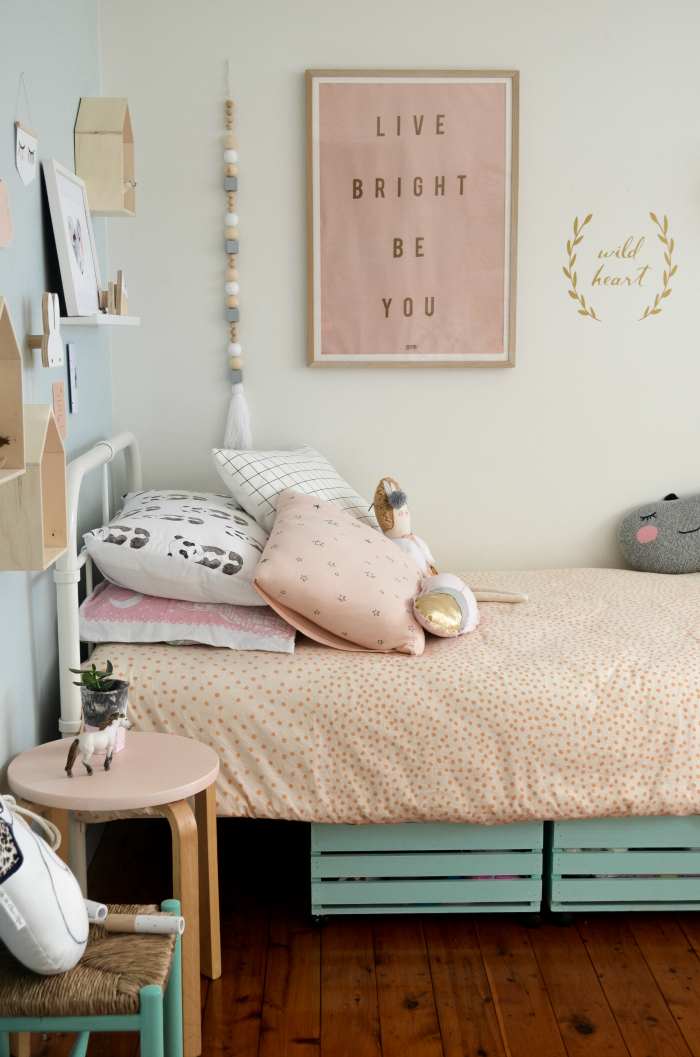 DIY Toddler Girl Bedroom