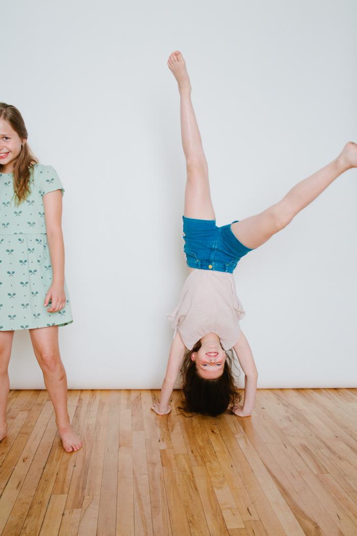 Babiekins Magazine | Keetan Handstand Shot
