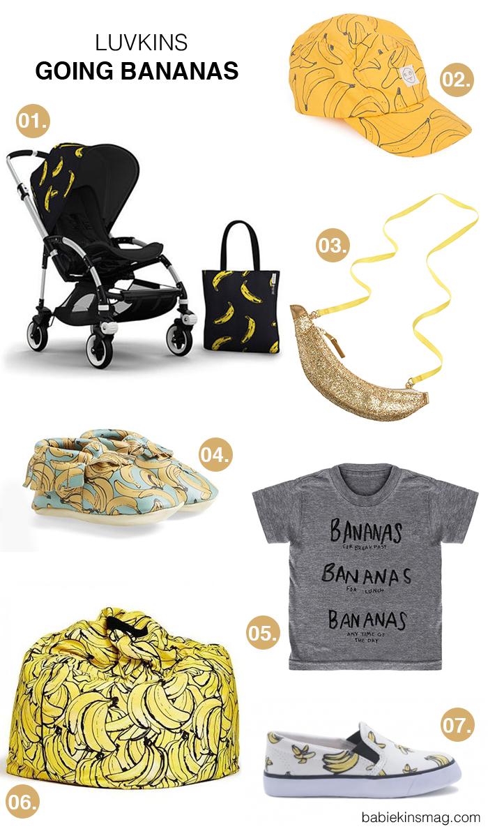 Babiekins Magazine | Luvkins // Going Bananas