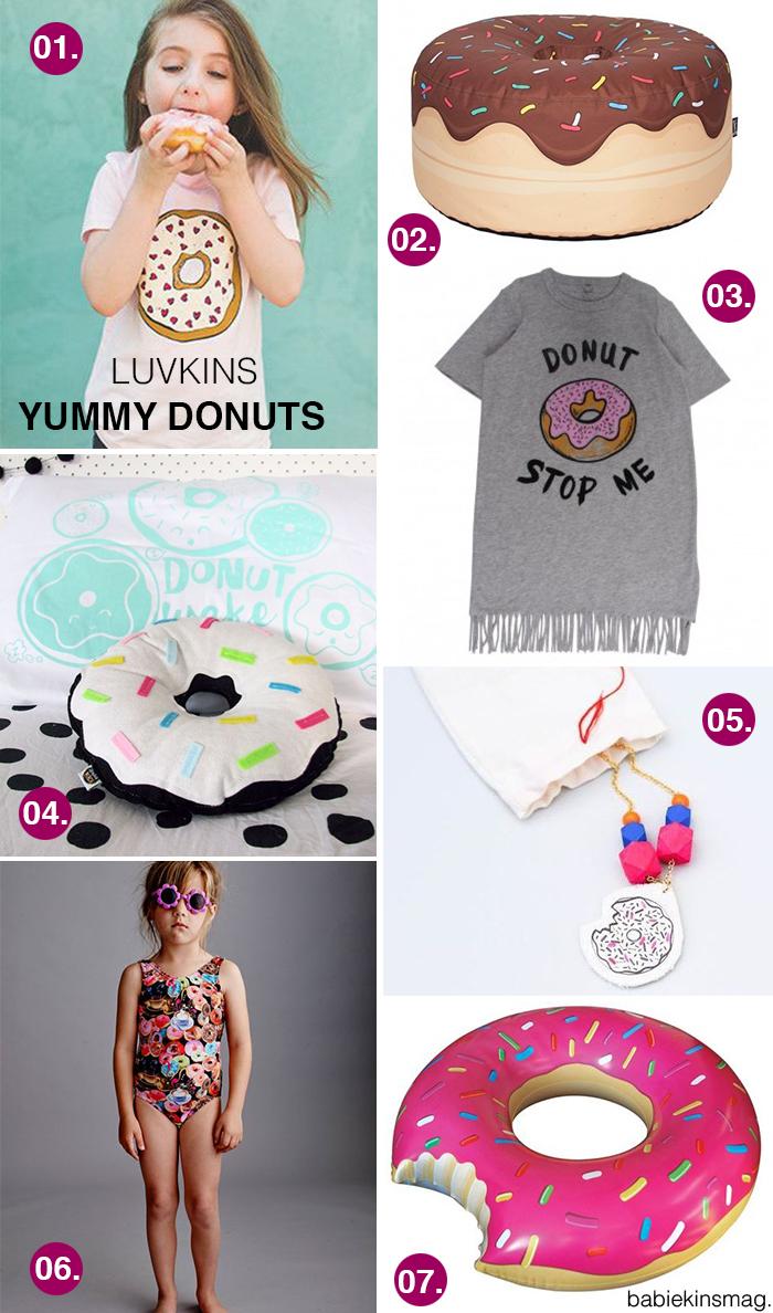 Babiekins Magazine | Luvkins // Yummy Donuts