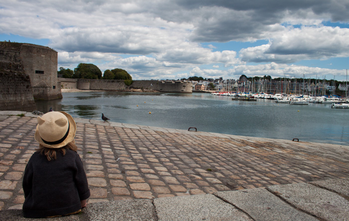 Babiekins Magazine | Travelkins | Brittany Old Harbour