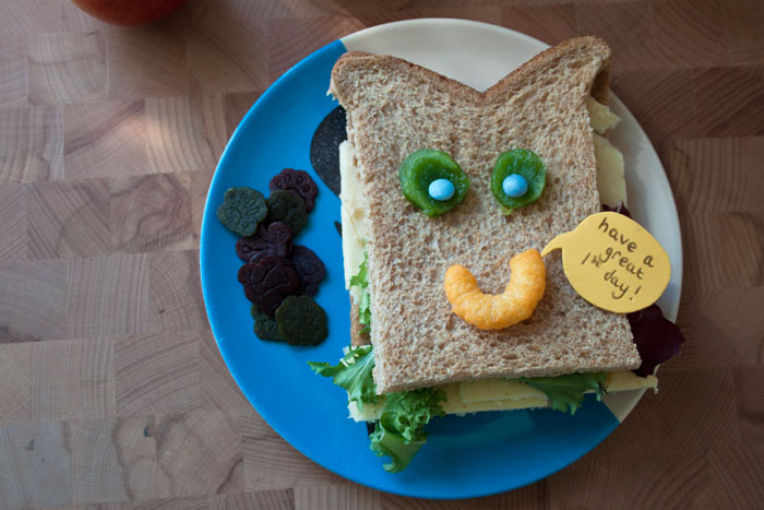 Babiekins Magazine | Schoolkins | Recess And Refuel | Sandwich