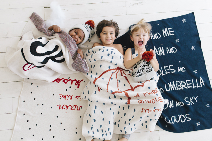 Babiekins Magazine | Fin & Vince | Blanket Fun