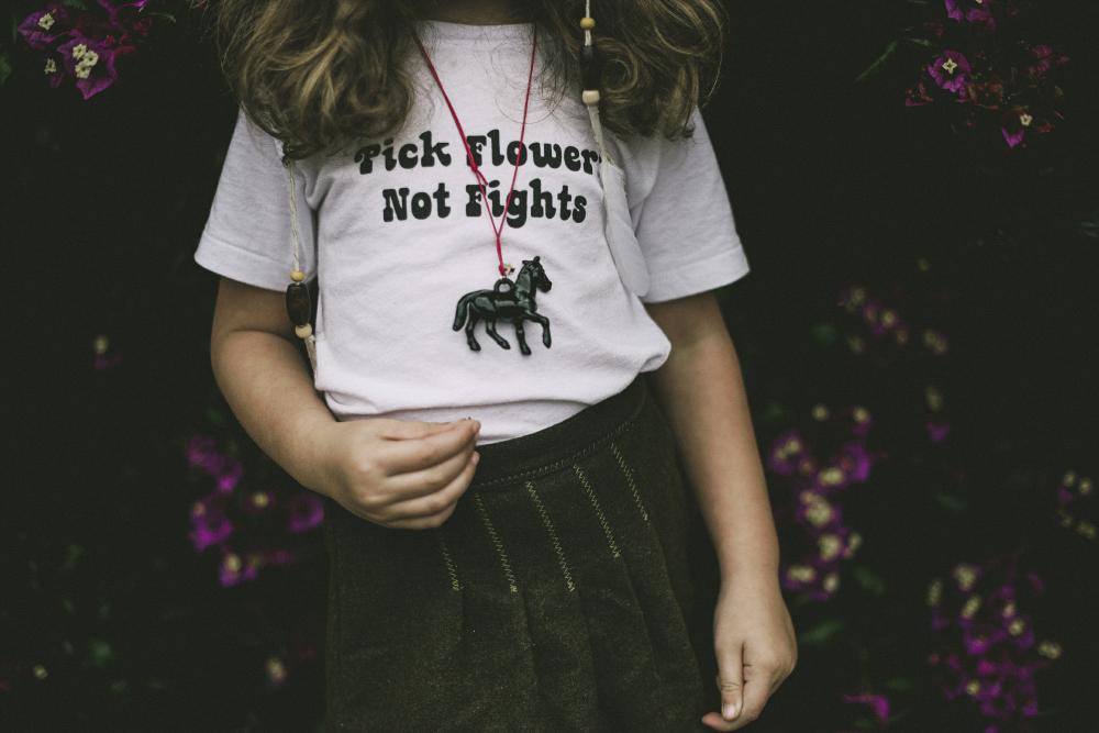 Babiekins Magazine|Pick Flowers Not Fights
