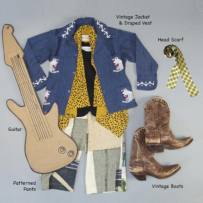 Flat Lay Jimi Hendrix