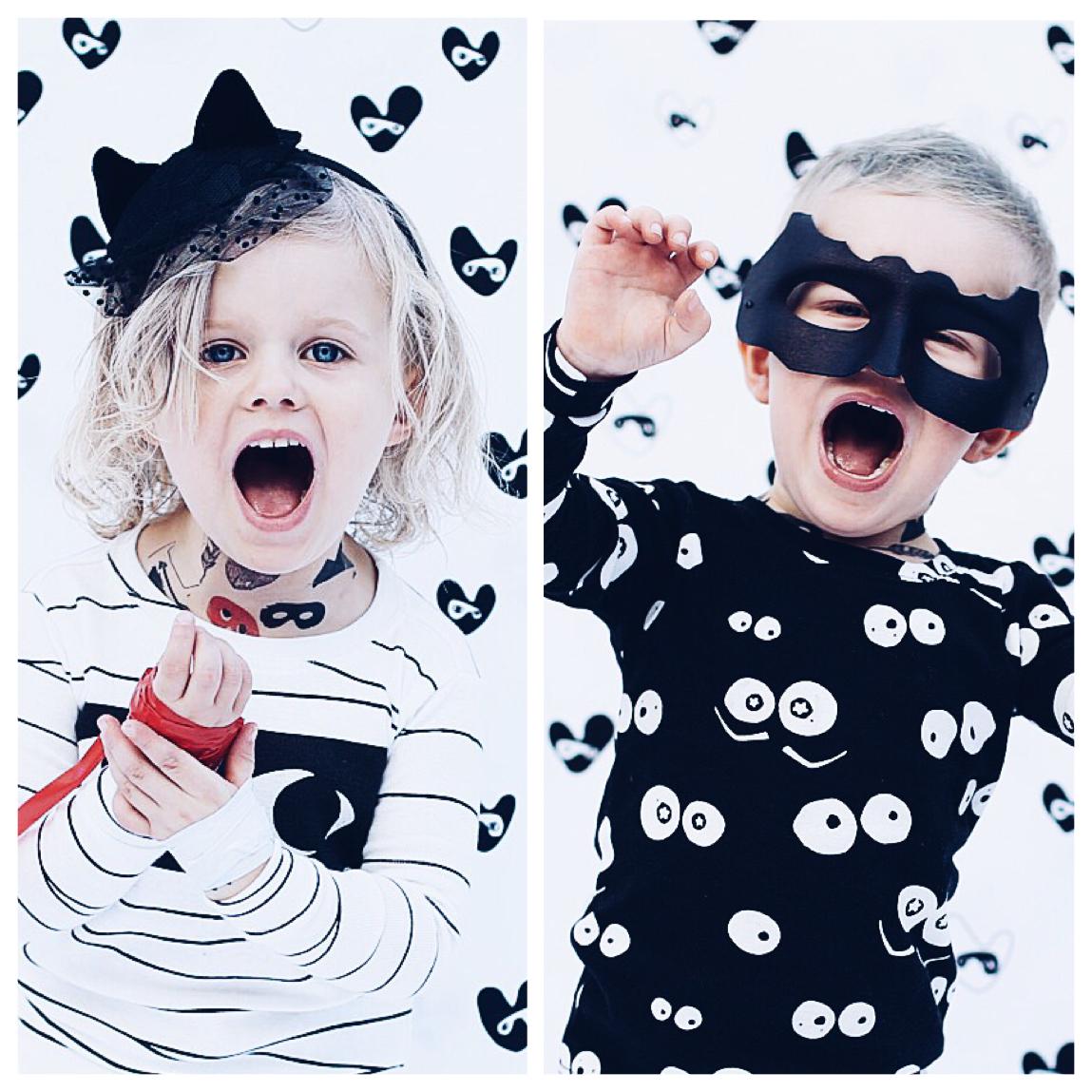 gap halloween sleep sets 02 beau loves temporary tattoos 03 hm headband with netting 04 custom made batman mask 05 beau loves cap from monkey
