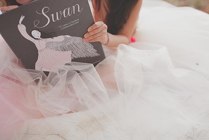 Storykins // Babiekins Magazine | Swan: The Life and Dance of Anna Pavlova photo: Angelina Lopez