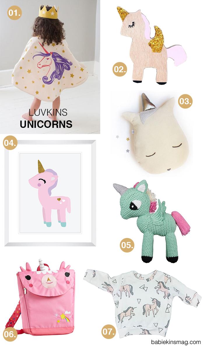 Luvkins // Unicorns | Babiekins Magazine