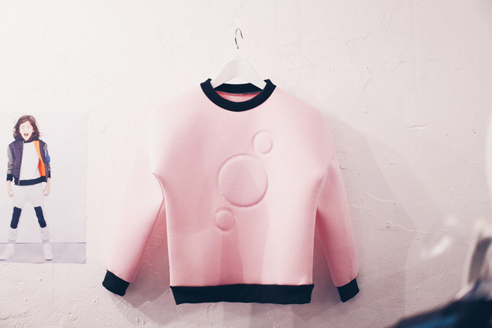 Babiekins Magazine | Dot to Dot London | Neoprene Sweater Maison Chaos