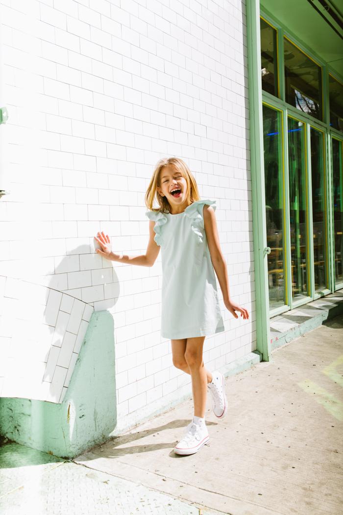Elizabeth Pettey Photography for Babiekins Magazine: Fashionkins// Juliet in the LES, SS16
