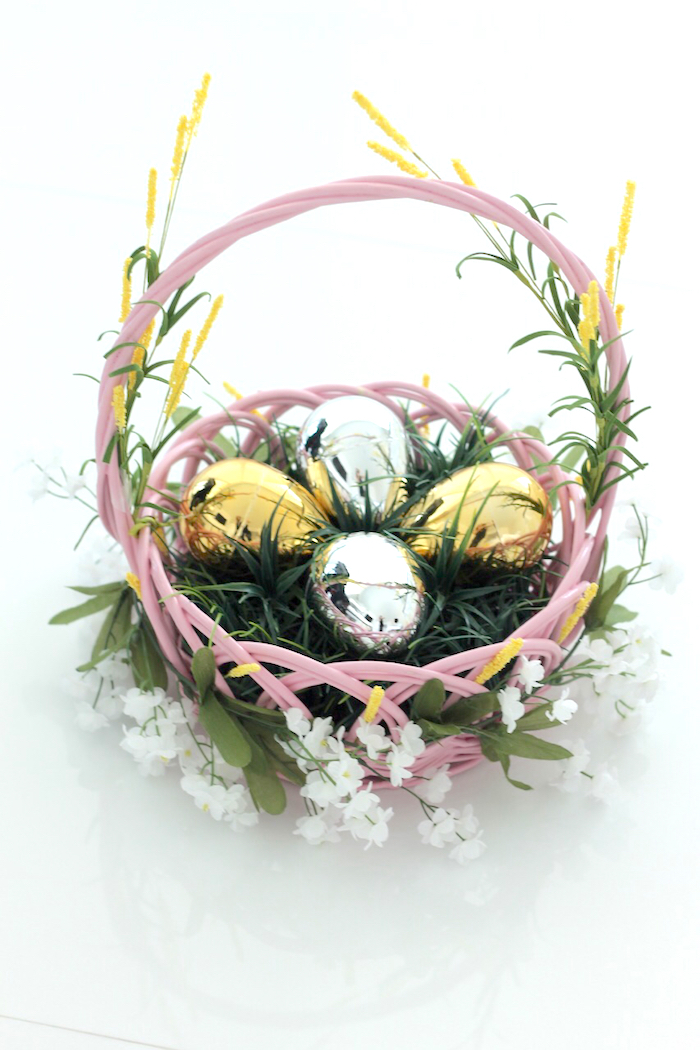 BABIEKINS MAGAZINE | DIY Whimsical Floral Easter Basket