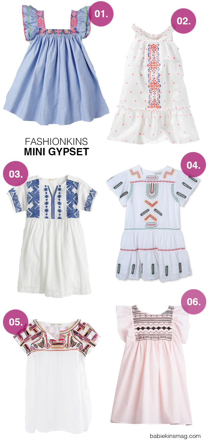 Fashionkins // Mini Gypset | Babiekins Magazine