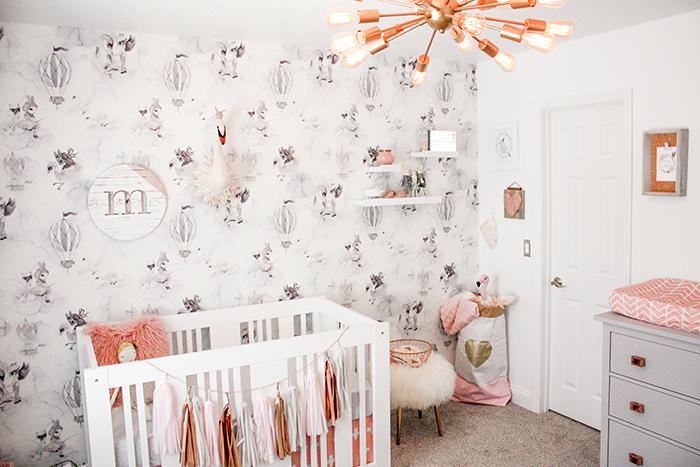 BABIEKINS MAGAZINE| A Feminine Nursery for Maven