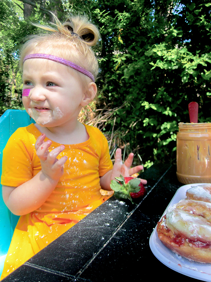 Babiekins Magazine | Peanut Butter & Jelly Days