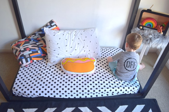 BABIEKINS MAGAZINE | A Bold Big Boy Room