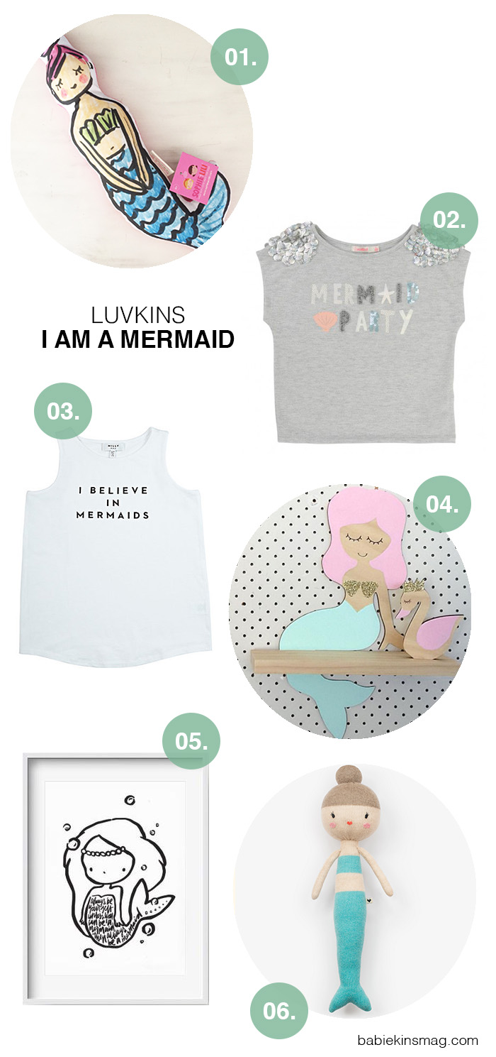 Babikinsmag.com :: Luvkins : I am a Mermaid