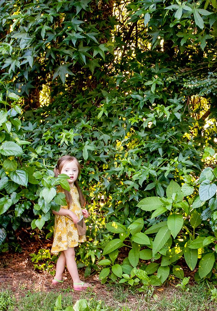 Babiekins Magazine // Craftykins Leaf Decor