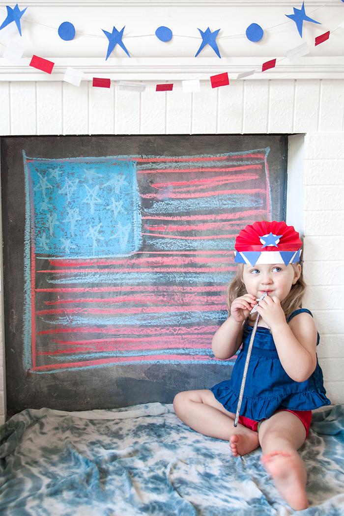 Babikeins Magazine // Craftykins Fourth of July
