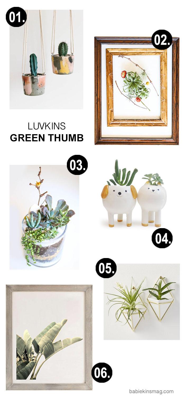 Babiekins Magazine |Luvkins Green Thumb