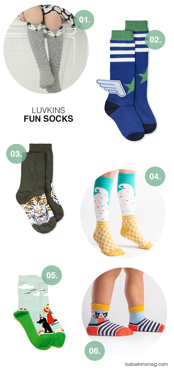 Luvkins I Fun Socks