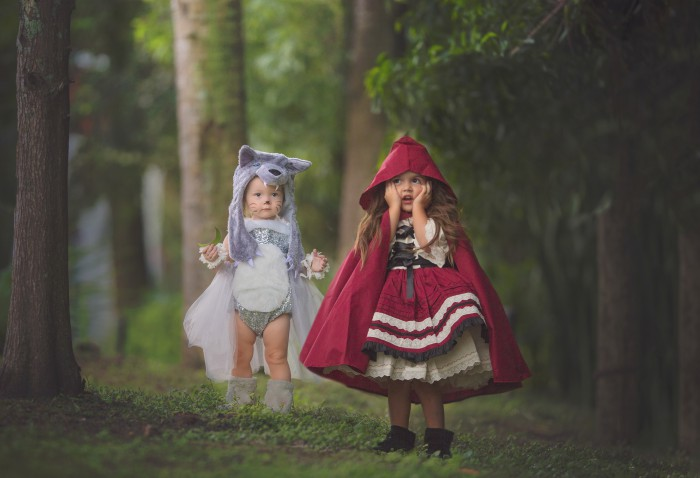 BABIEKINS MAGAZINE | Halloween: Little Red Riding Hood