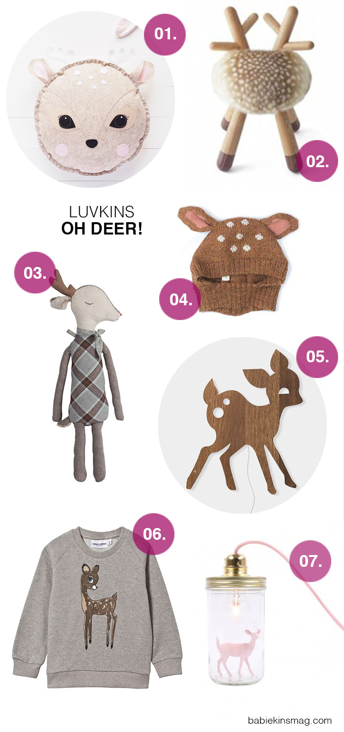 Luvkins // Oh Deer! | Babiekins Magazine
