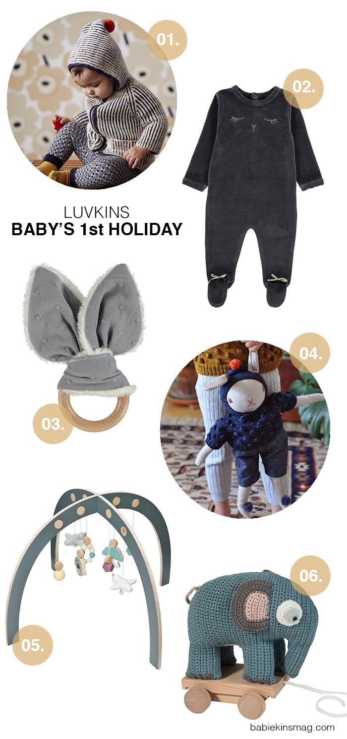 Luvkins // Baby's 1st Holiday | Babiekins Magazine