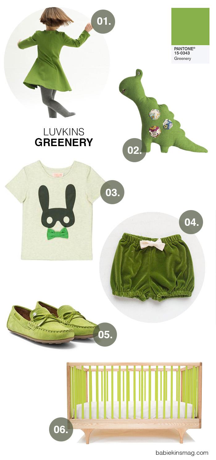 Luvkins // Greenery | Babiekins Magazine