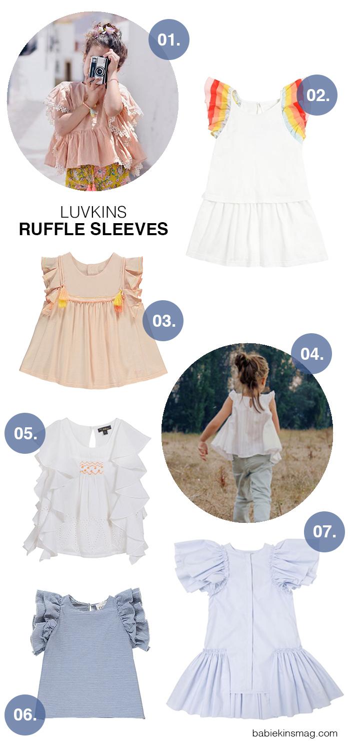 Luvkins // Ruffle Sleeves | Babiekins Magazine